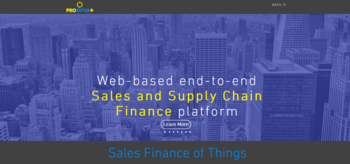 Proxima+: Sales Finance Of Things!